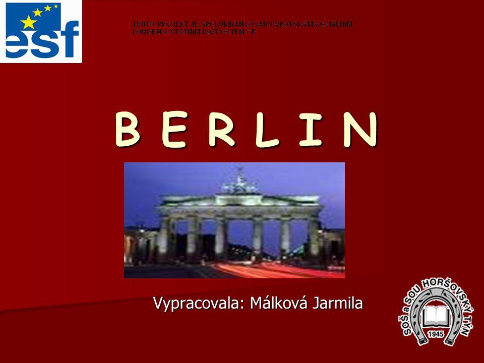 Vypracovala: Málková Jarmila