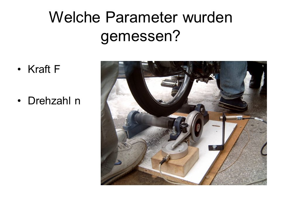 Welche Parameter wurden gemessen