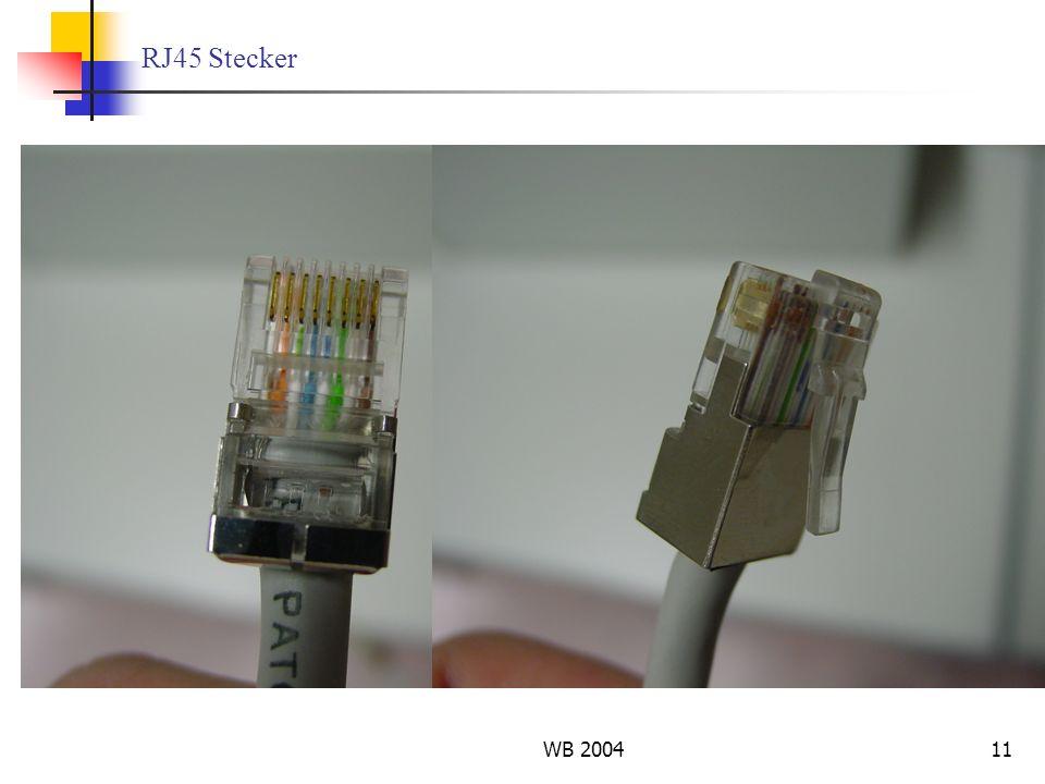 RJ45 Stecker WB 2004