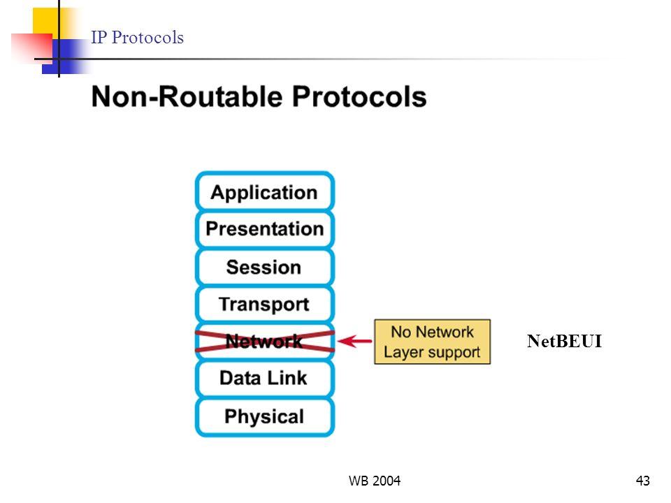 IP Protocols NetBEUI WB 2004