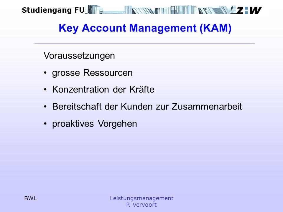 Key Account Management (KAM)