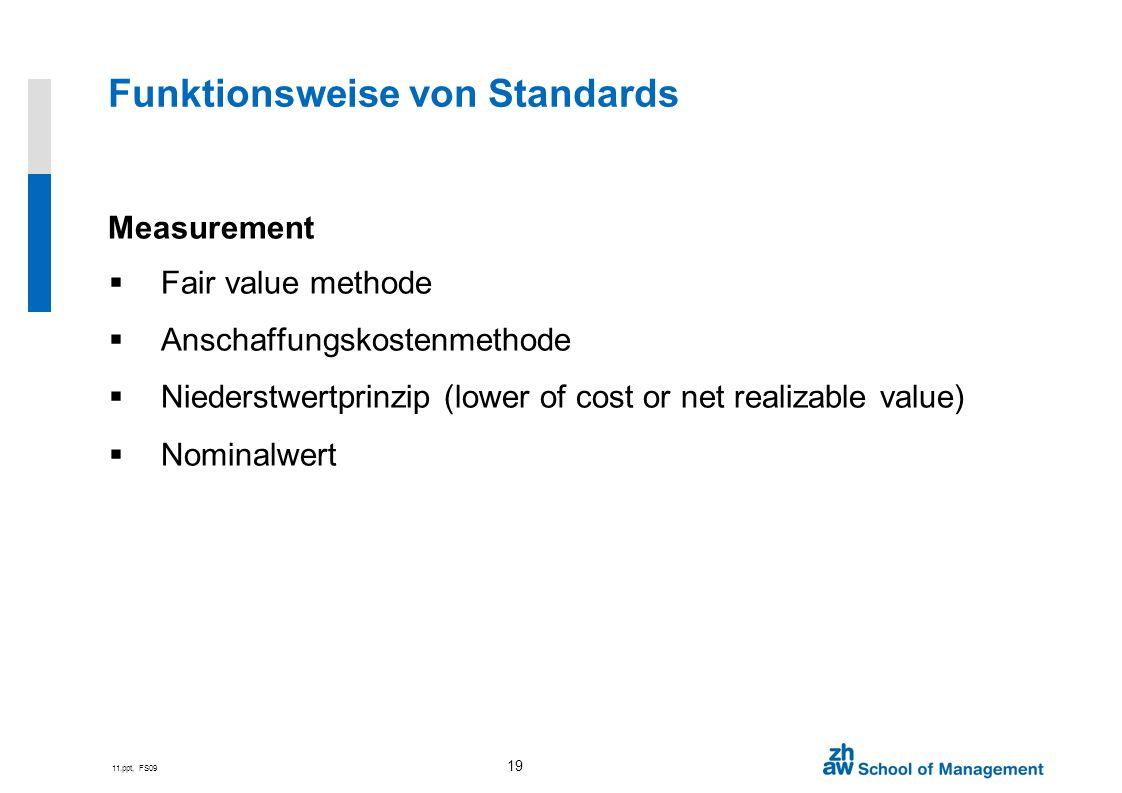 Funktionsweise von Standards