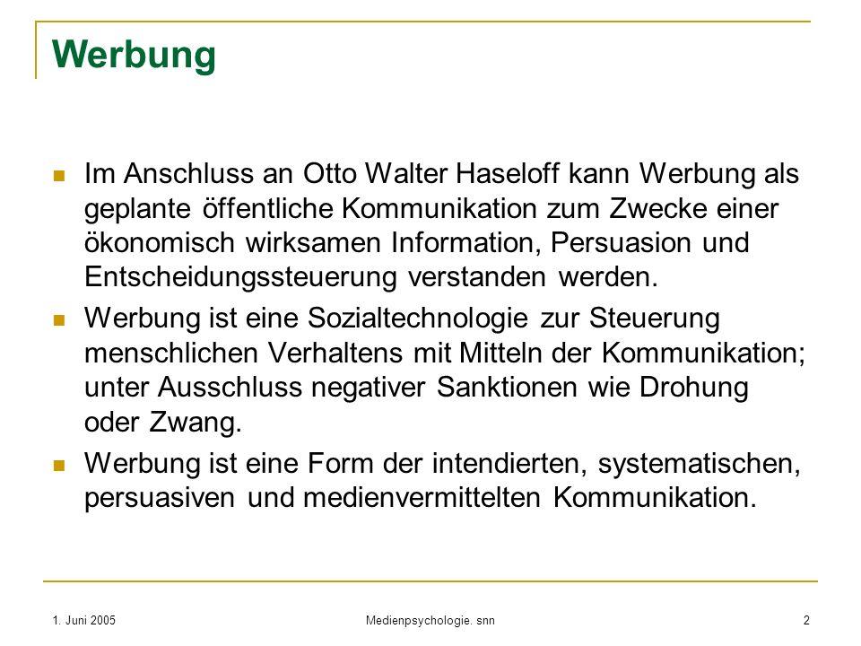 Medienpsychologie. snn