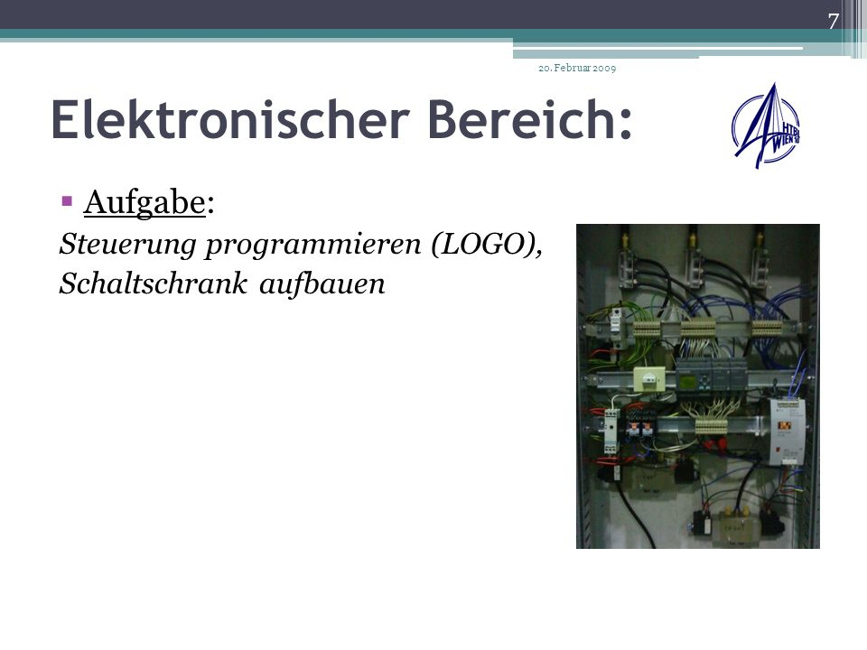 Elektronischer Bereich: