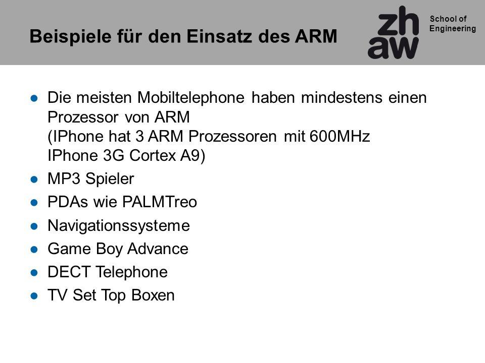 Beispiele für den Einsatz des ARM