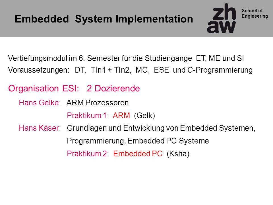 Embedded System Implementation