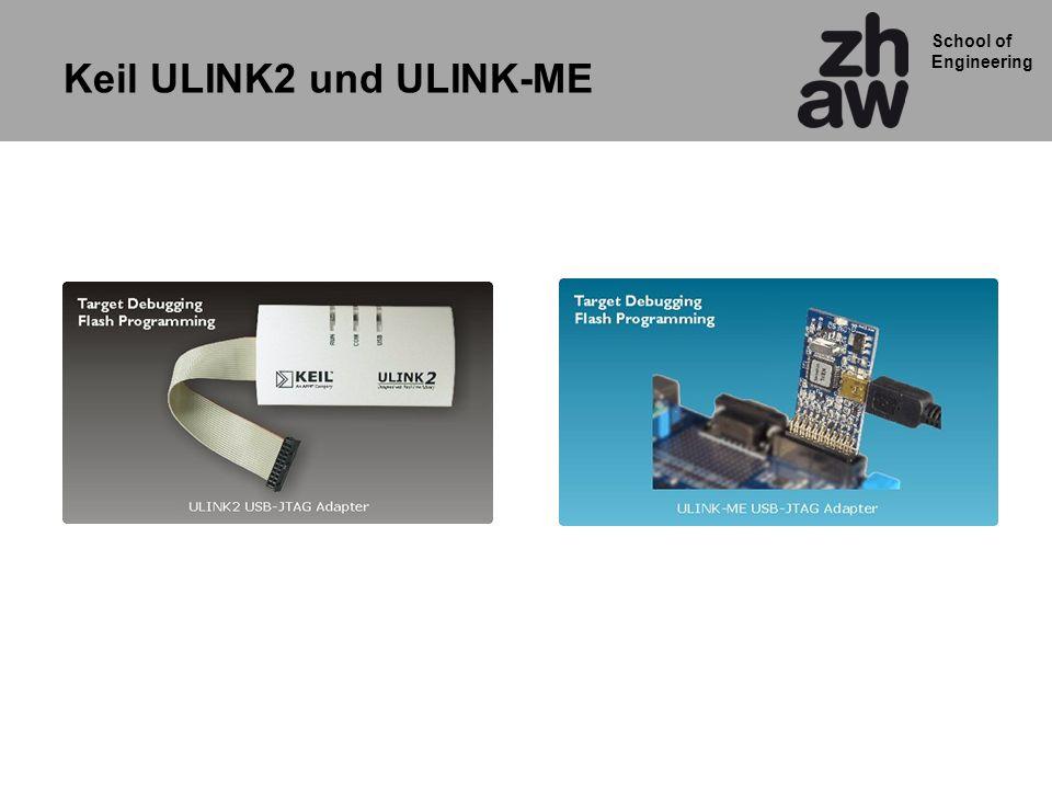 Keil ULINK2 und ULINK-ME