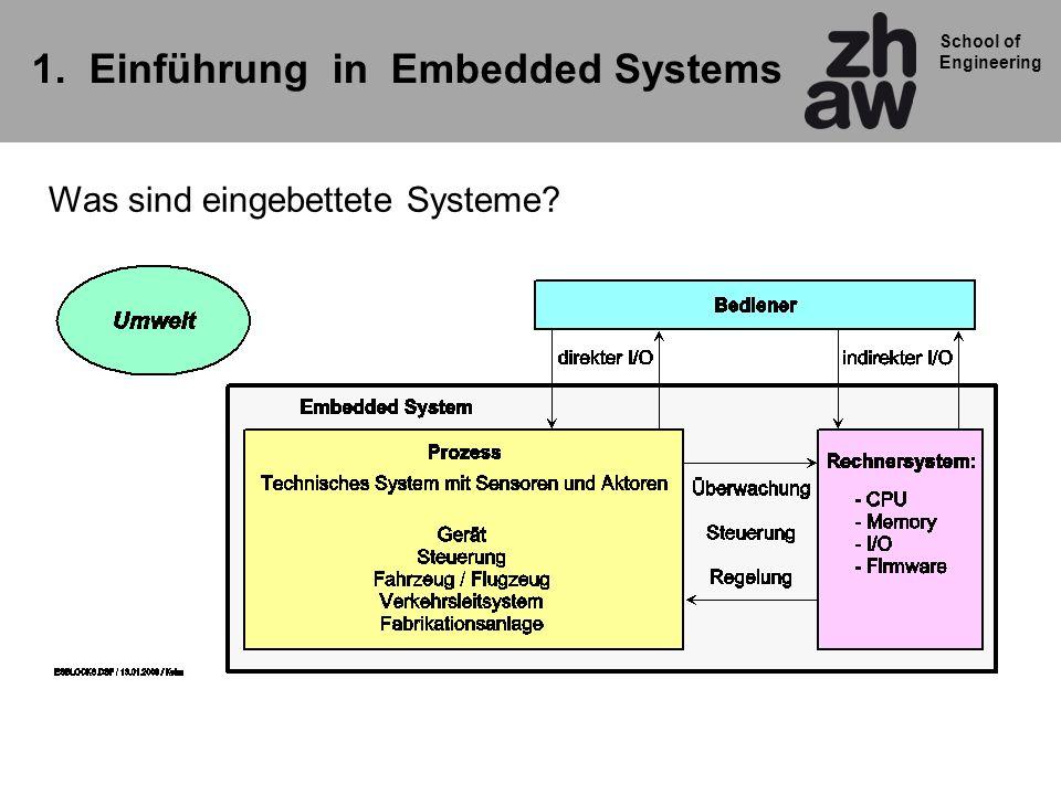 1. Einführung in Embedded Systems