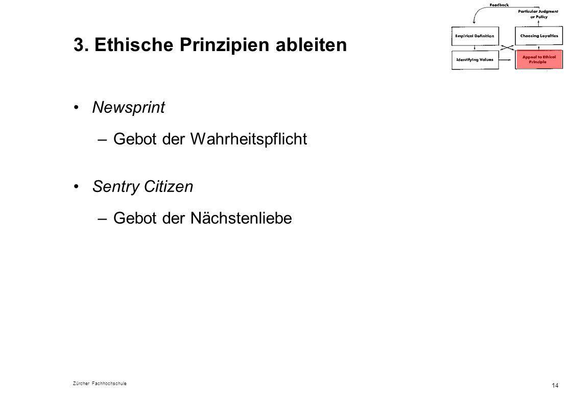 3. Ethische Prinzipien ableiten