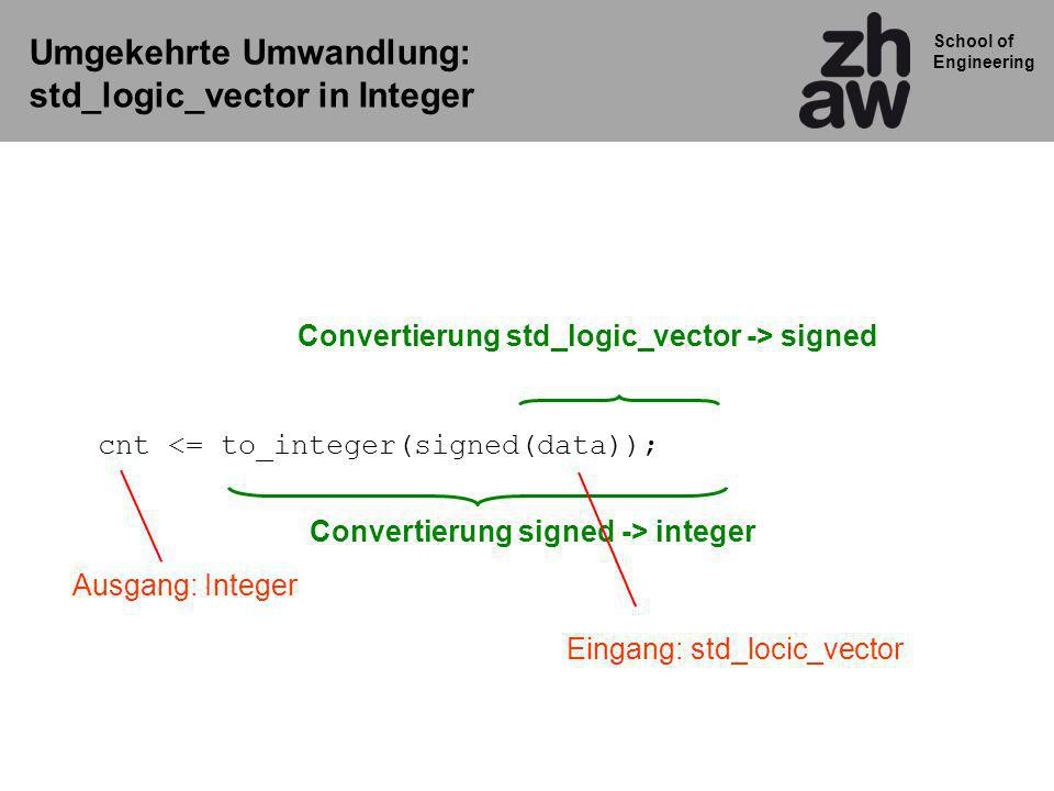 Convertierung std_logic_vector -> signed