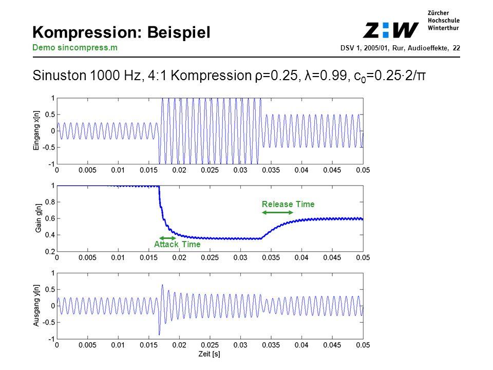 Kompression: Beispiel