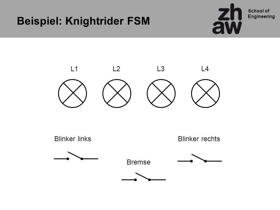 Beispiel: Knightrider FSM