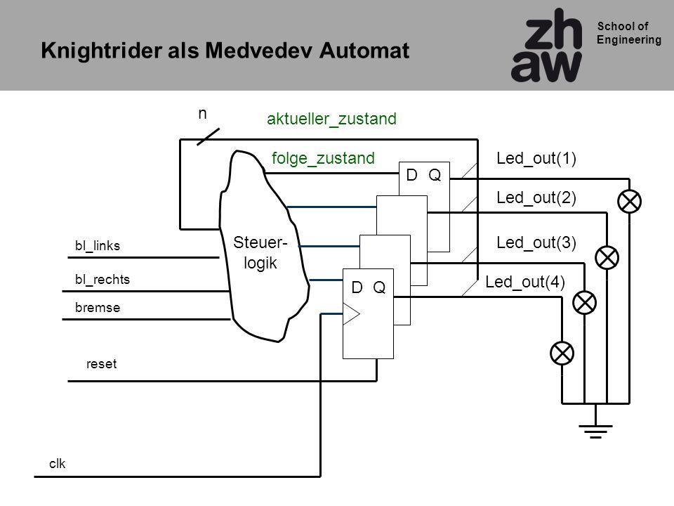 Knightrider als Medvedev Automat