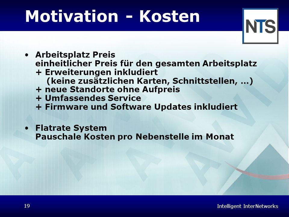 Motivation - Kosten