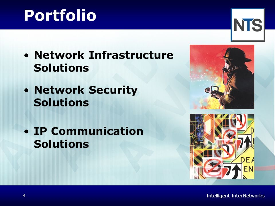 Portfolio Network Infrastructure Solutions Network Security Solutions