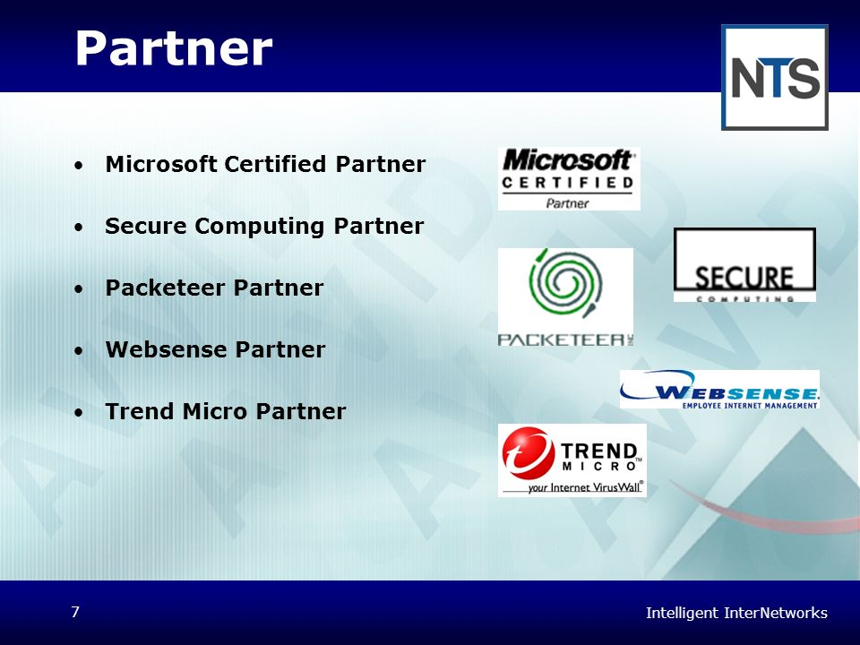 Partner Microsoft Certified Partner Secure Computing Partner