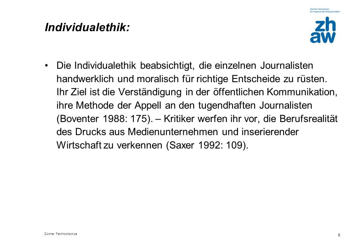 Individualethik: