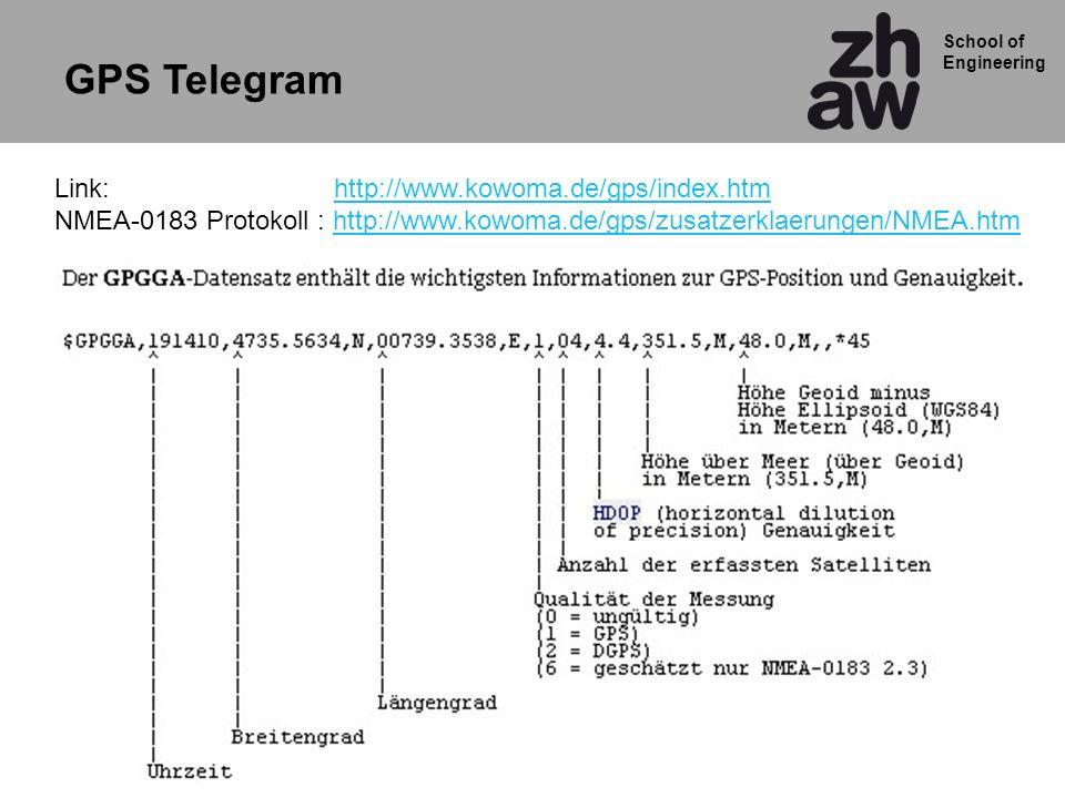 GPS Telegram Link: http://www.kowoma.de/gps/index.htm