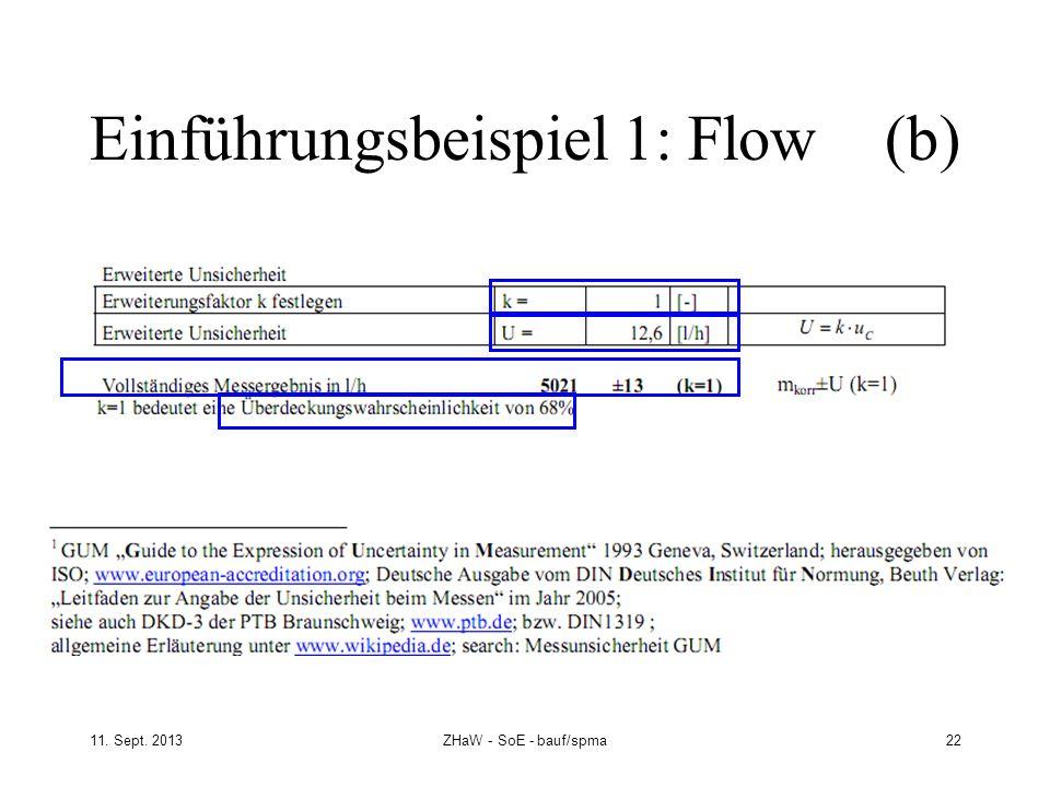 Einführungsbeispiel 1: Flow (b)