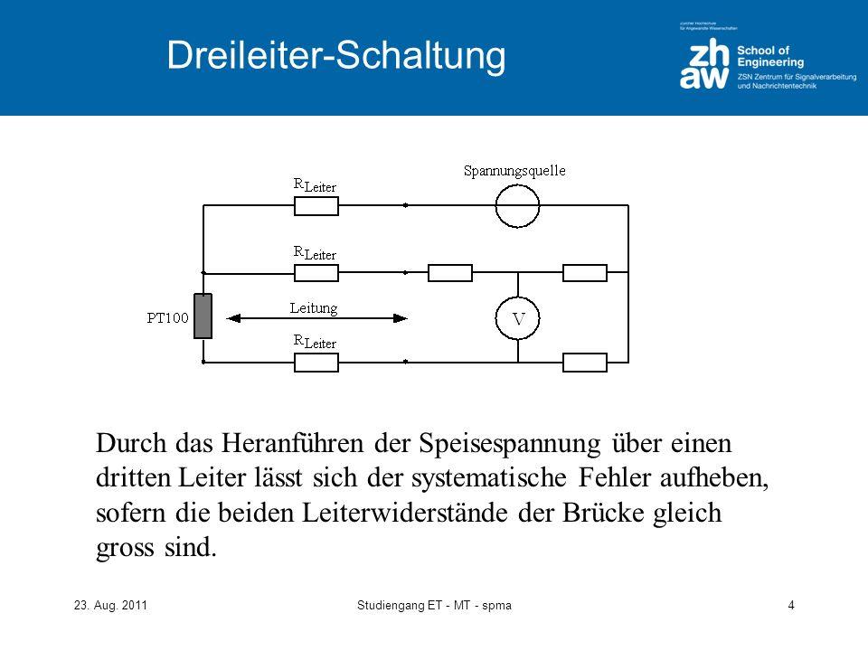 Dreileiter-Schaltung