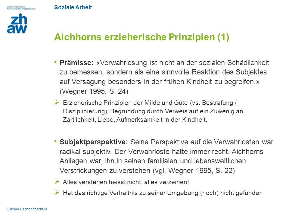 Aichhorns erzieherische Prinzipien (1)