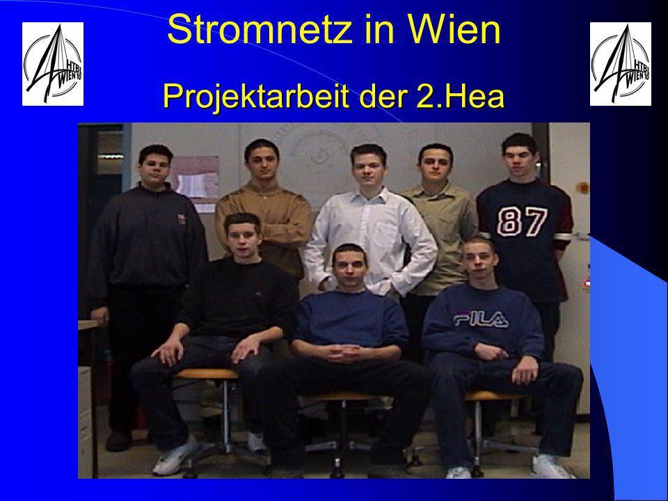 Stromnetz in Wien Projektarbeit der 2.Hea