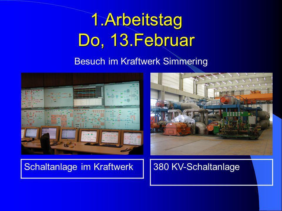 Besuch im Kraftwerk Simmering