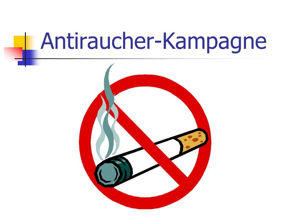 Antiraucher-Kampagne