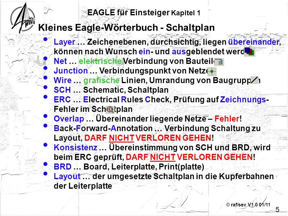 Kleines Eagle-Wörterbuch - Schaltplan