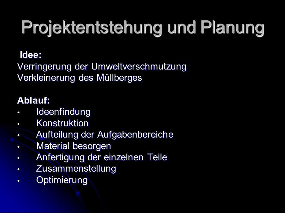 Projektentstehung und Planung