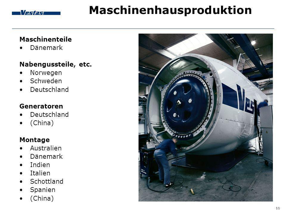 Maschinenhausproduktion