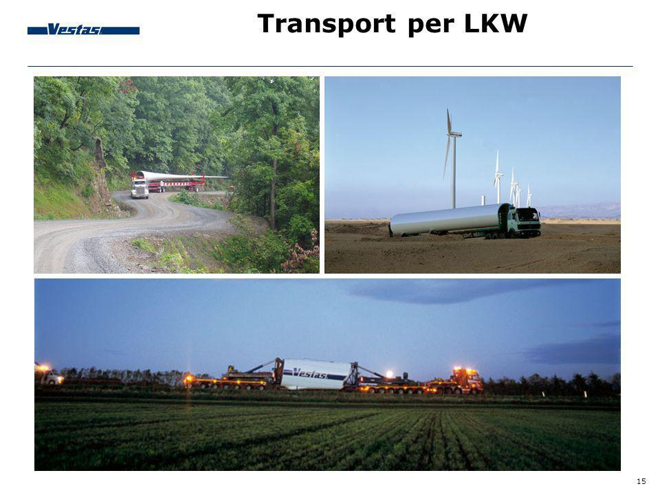 Transport per LKW