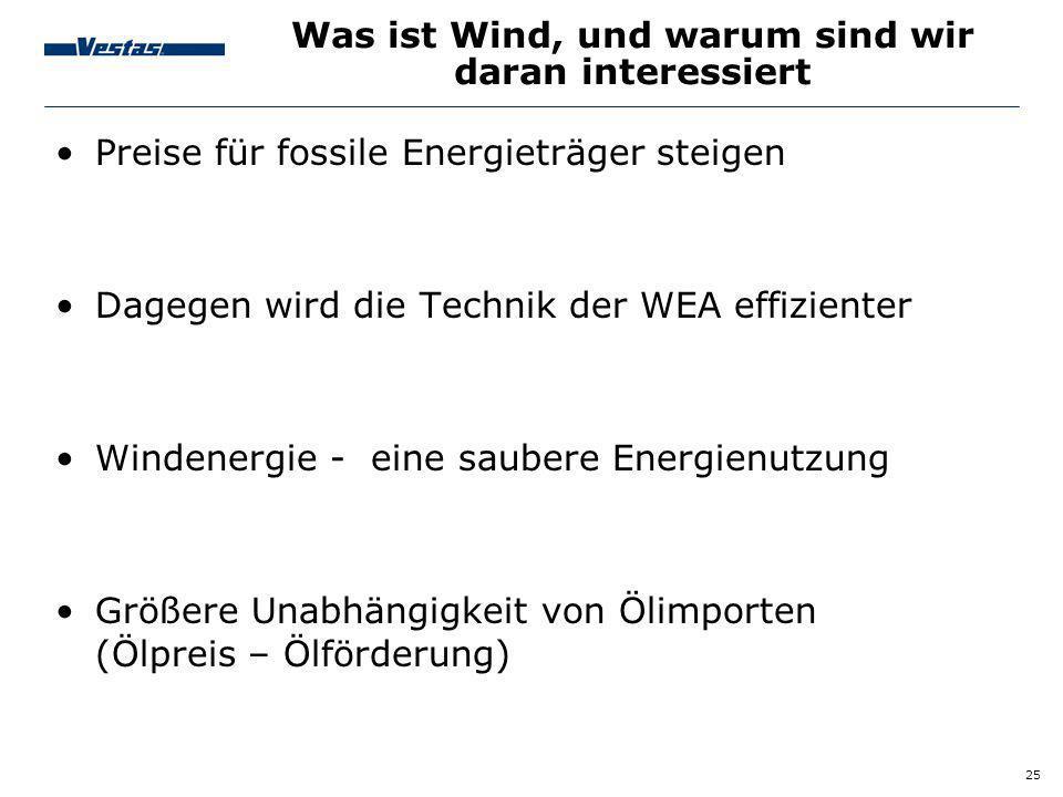 Was ist Wind, und warum sind wir daran interessiert