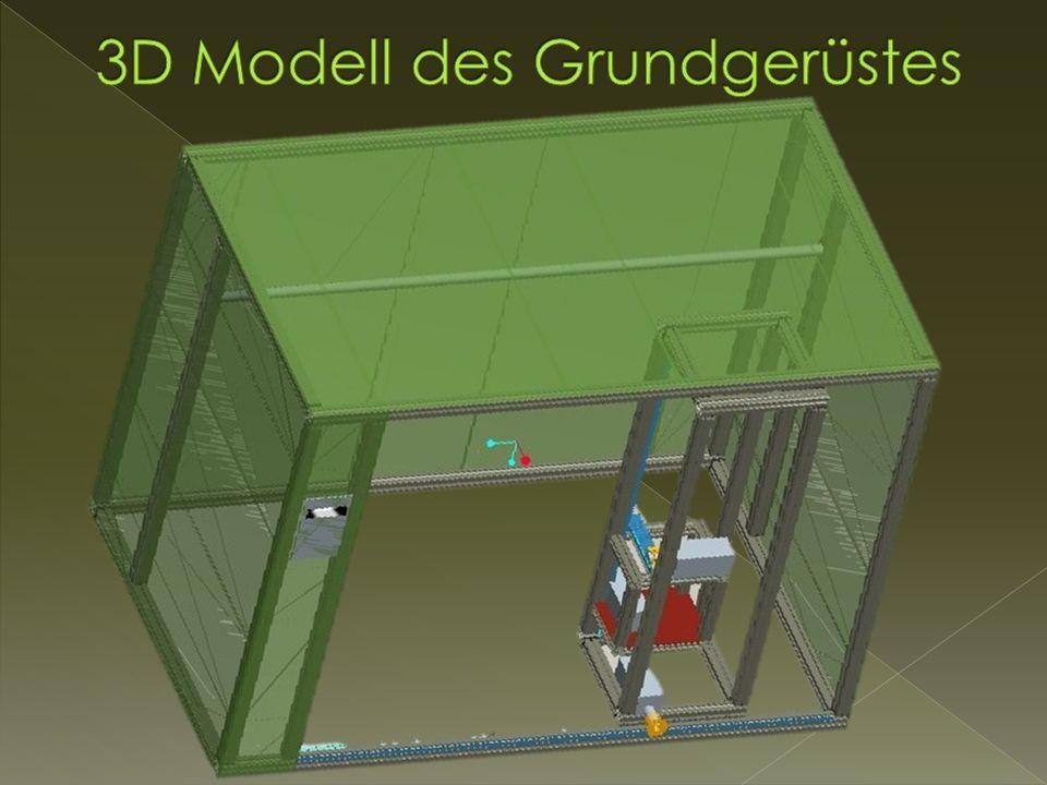 3D Modell des Grundgerüstes