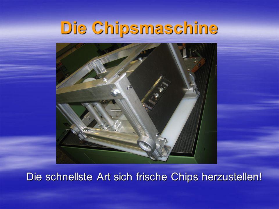 Die schnellste Art sich frische Chips herzustellen!