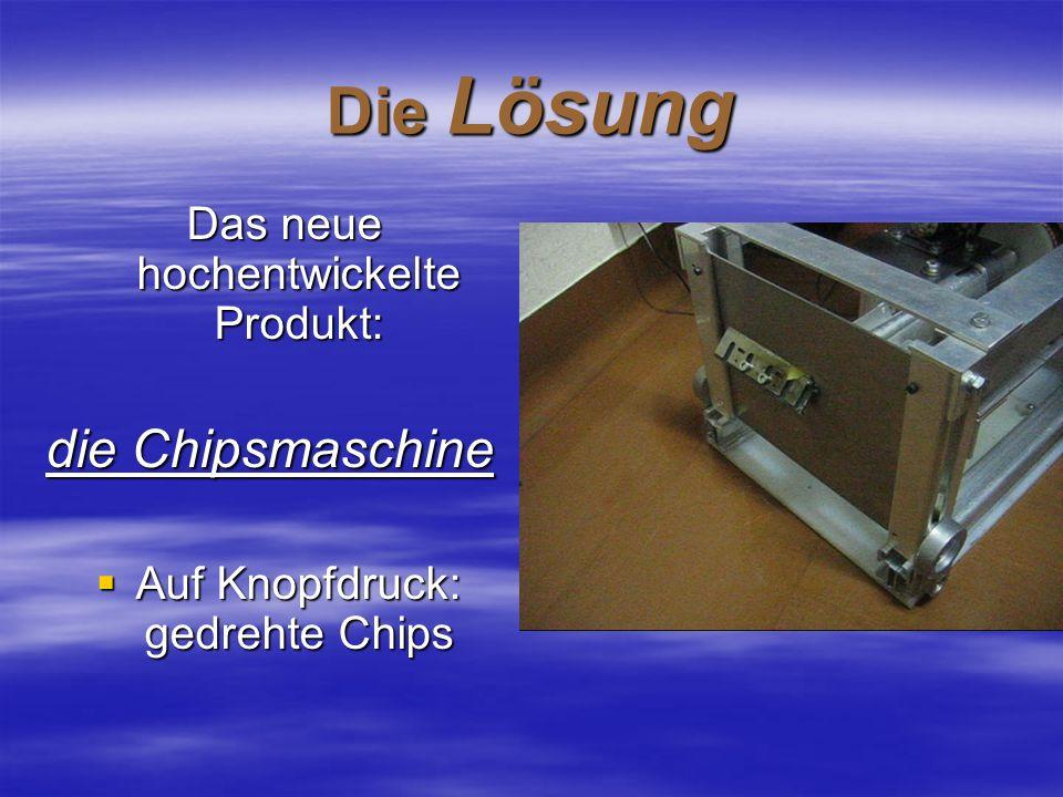 Die Lösung die Chipsmaschine Das neue hochentwickelte Produkt: