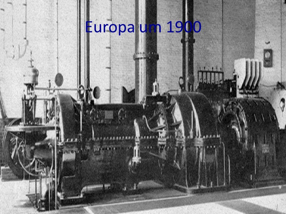 Europa um 1900