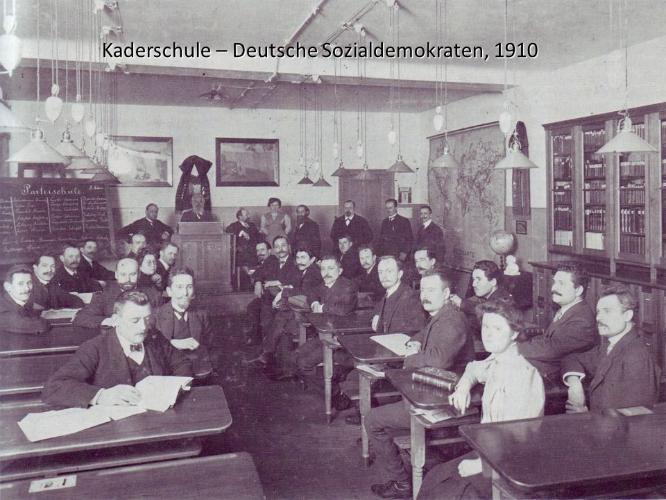 Kaderschule – Deutsche Sozialdemokraten, 1910