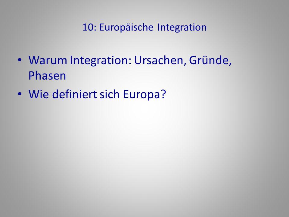10: Europäische Integration