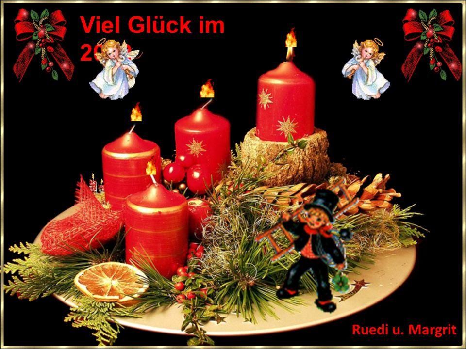 Viel Glück im 2012 Ruedi u. Margrit