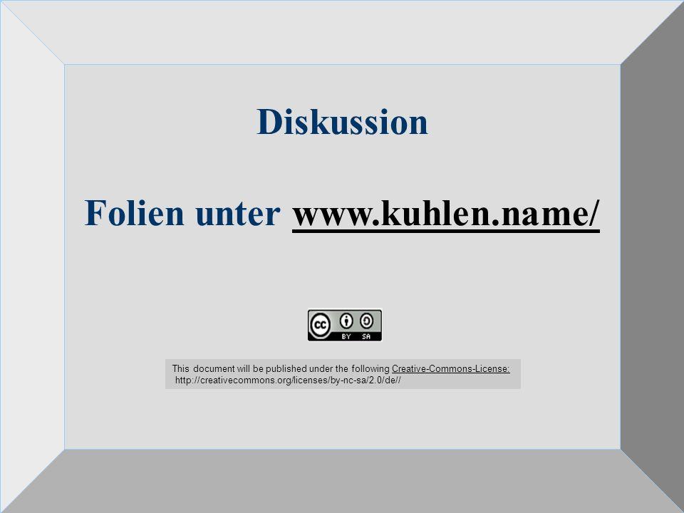 Folien unter www.kuhlen.name/