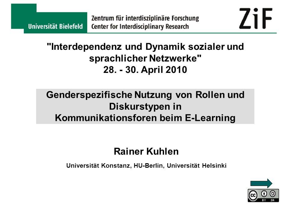 Interdependenz und Dynamik sozialer und sprachlicher Netzwerke