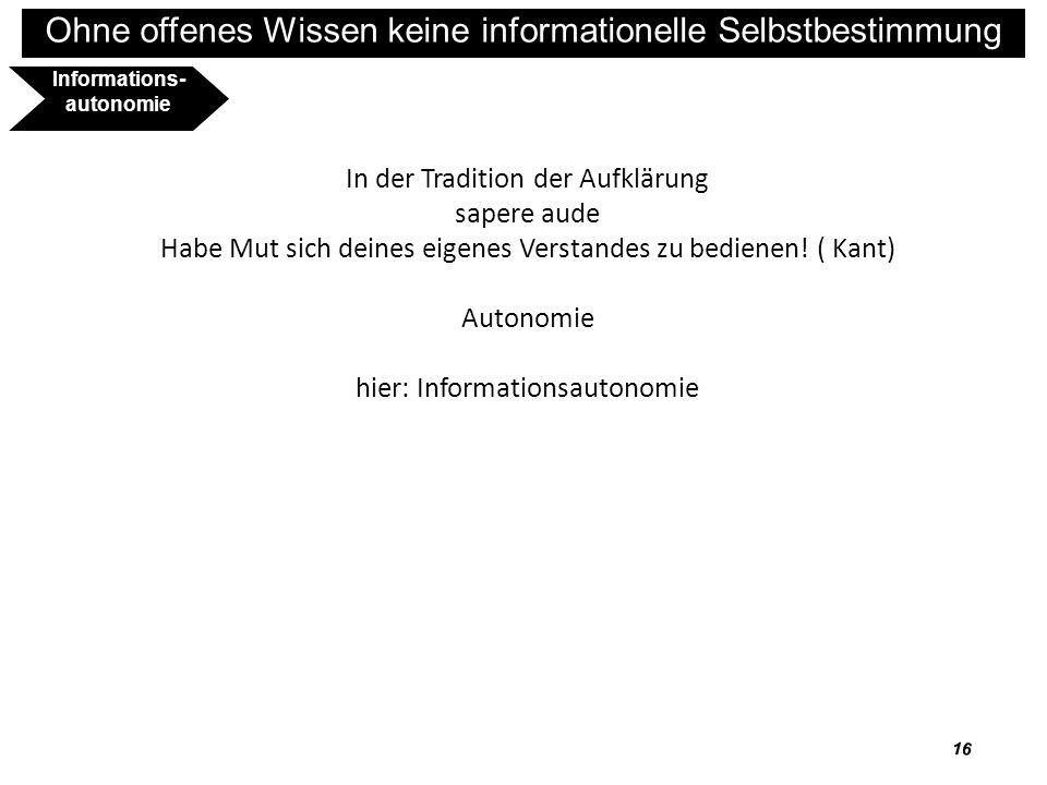 Informations-autonomie