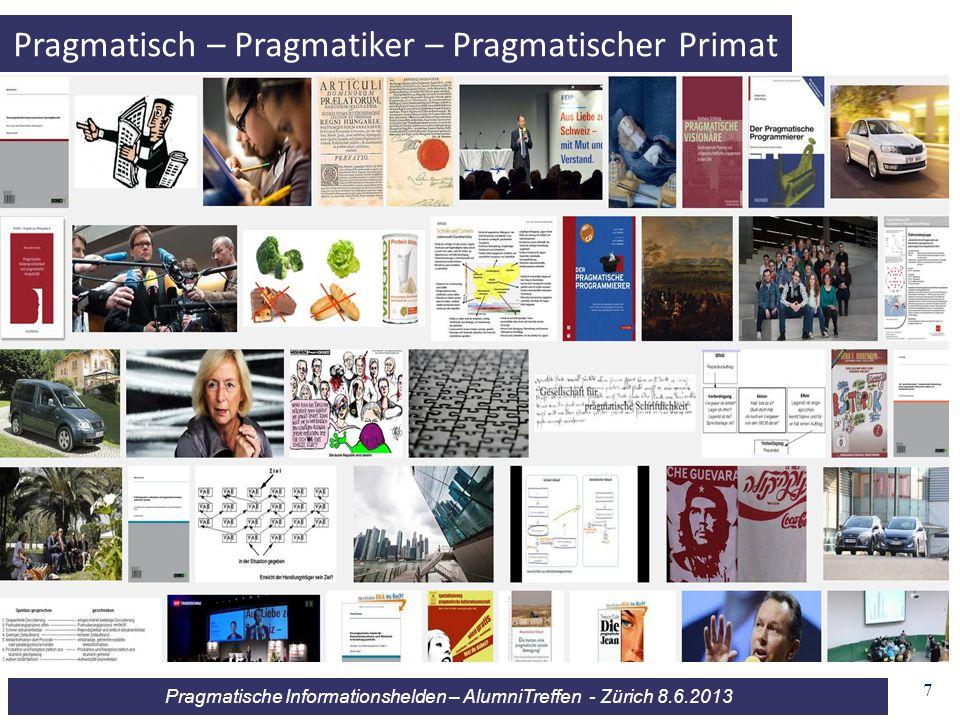 Pragmatisch – Pragmatiker – Pragmatischer Primat
