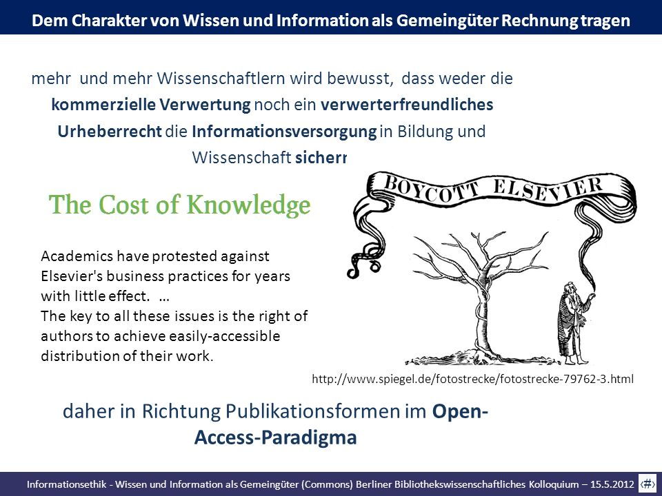 daher in Richtung Publikationsformen im Open-Access-Paradigma