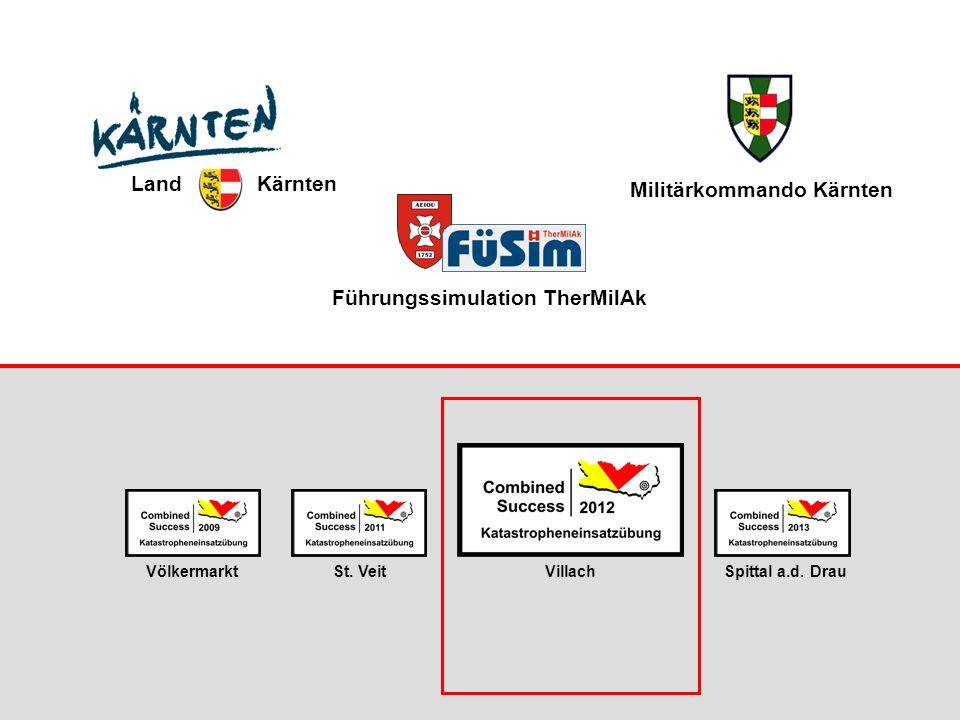 Militärkommando Kärnten Führungssimulation TherMilAk