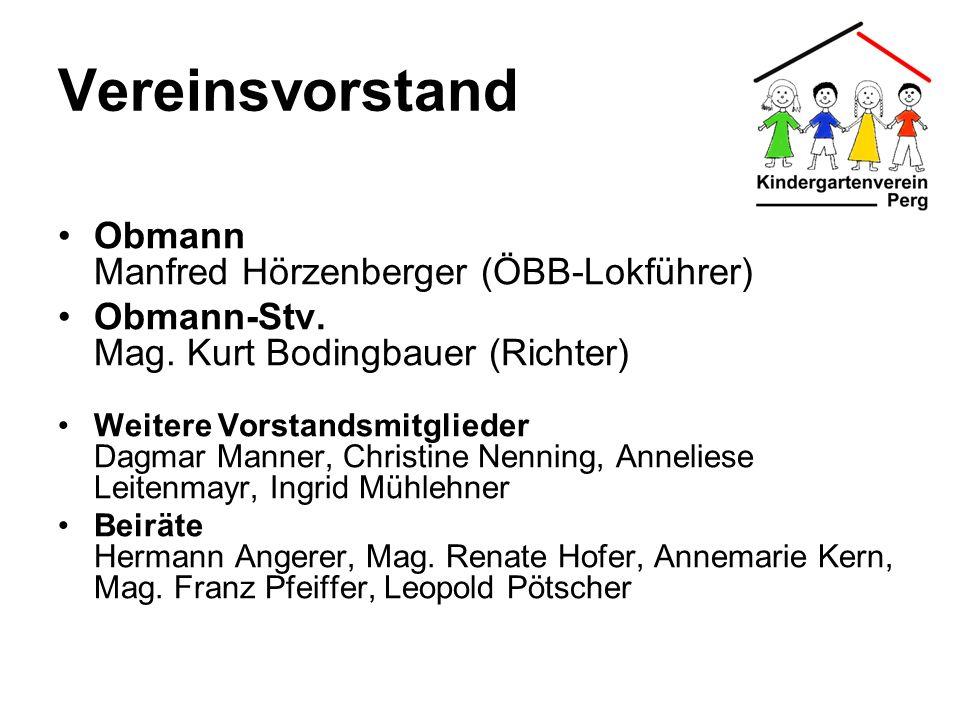 Vereinsvorstand Obmann Manfred Hörzenberger (ÖBB-Lokführer)