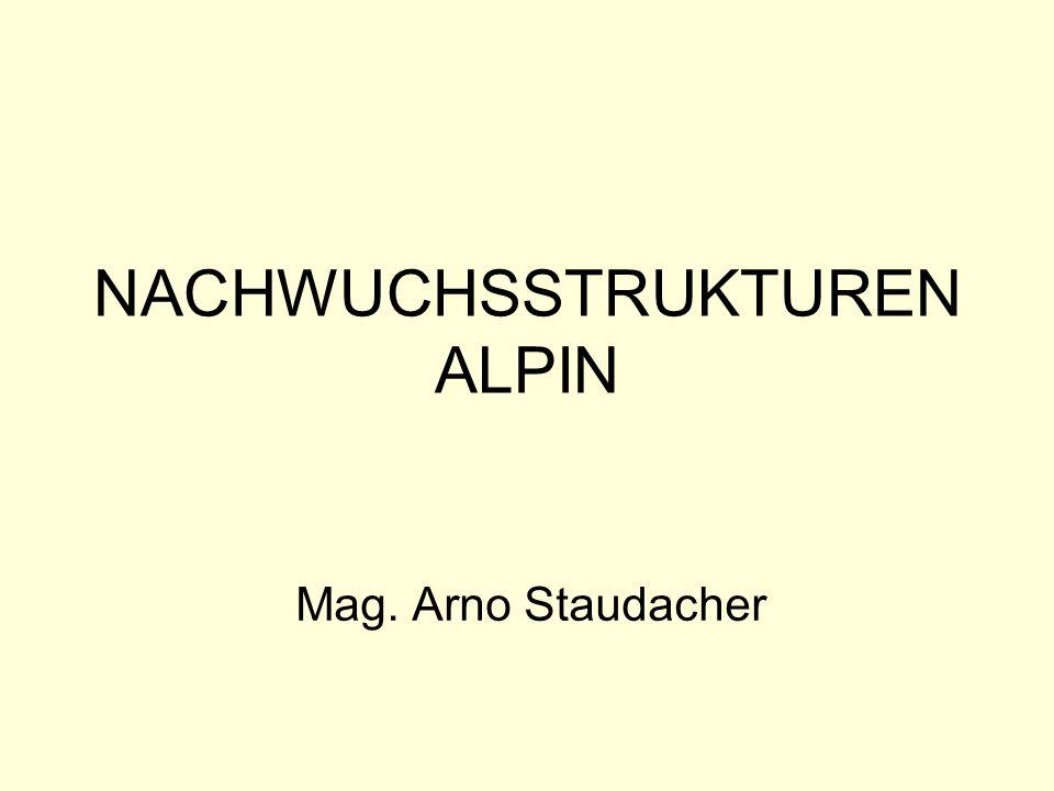 NACHWUCHSSTRUKTUREN ALPIN