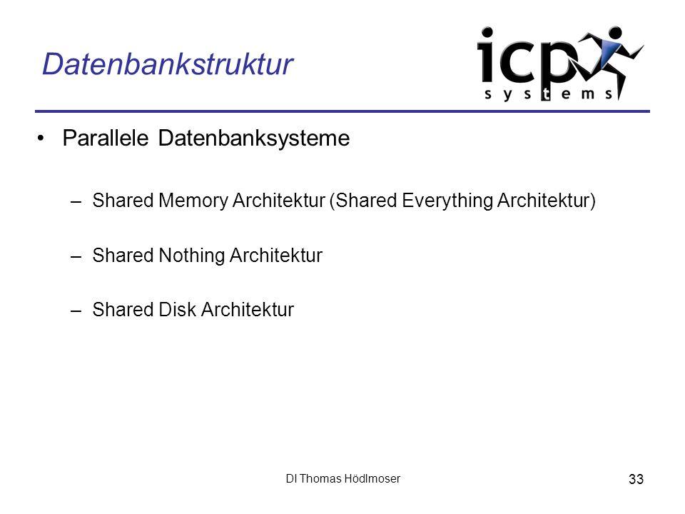 Datenbankstruktur Parallele Datenbanksysteme