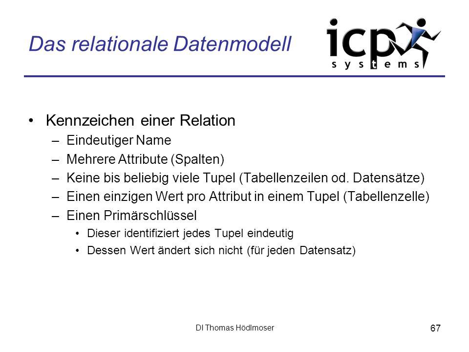 Das relationale Datenmodell